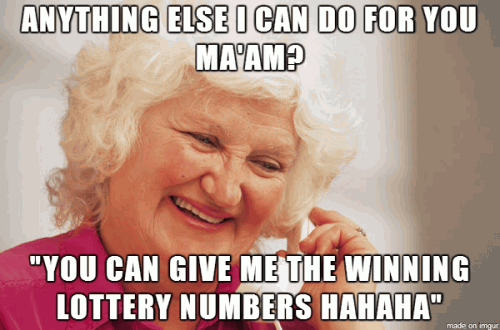 Give me the lottery numbers2