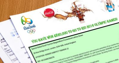 Olympic Lottery scam