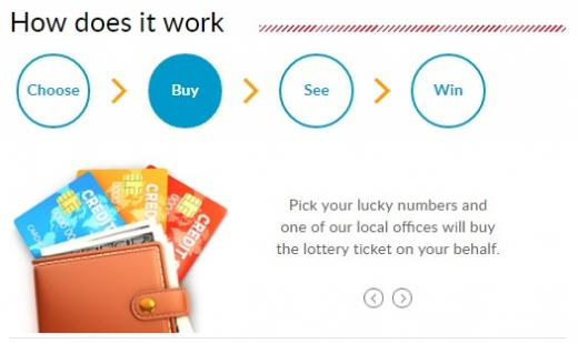 how to play lotto online step 2