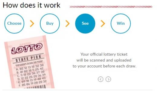 how to play lotto online step 3