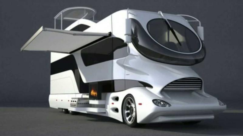 Space age eleMMent Palazzo motorhome
