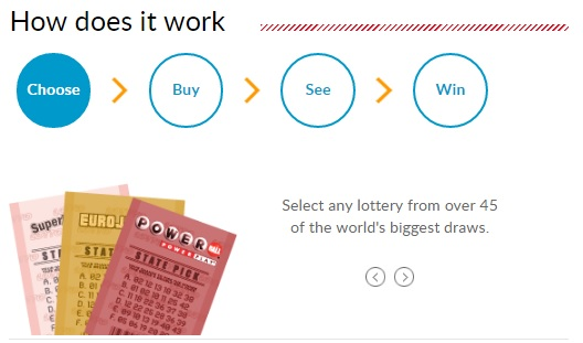 how to play lotto online step 1
